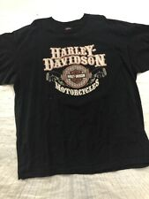 Harley Davidson T-Shirt 3X French Lick West Baden Indiana Short Sleeve Black