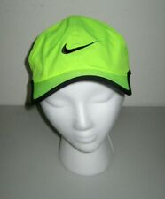Nike Dri-Fit Featherlight Hat Cap Ghost Green Youth size 4/7 Tennis Golf *Euc*