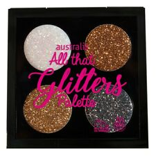 Australis Glitter Eyeshadow Palette All That Glitters #Dazzle Me FREE SHIPPING