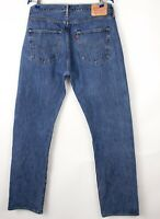 Levi's Strauss & Co Hommes 501 Jeans Jambe Droite Taille W36 L34 BCZ997