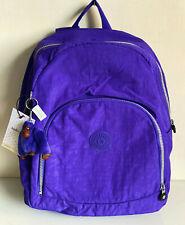 NEW! KIPLING CARMINE OCTOPUS PURPLE NYLON BACKPACK SCHOOL BAG  $104 SALE