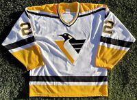 Pittsburgh Penguins 1992-94 Rick Tocchet Robo-Pen Hockey Jersey Vintage Retro L