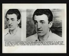 ORIGINAL 1955 CRIMINAL PHOTO EXECUTED CARYL CHESSMAN VINTAGE ROBBER KIDNAP RAPE