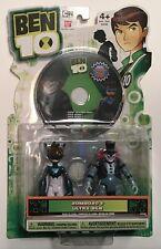 Ben 10 RARE Ultra Zombozo Action figures & DVD Lot Set Pack NEW Bandai 2011