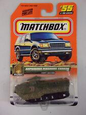 Matchbox #55 Amphibious Personnel Carrier Series 11 Military