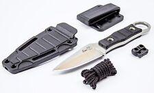 "Russian Tactical EDC knife ""Hedgehog"" + sheath Kizlyar knives (AUS-8, Satin)"