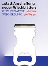 WISHBOY: ein Scheibenwischer-Gummi-PROFILIERER ohne Schleifmittel !
