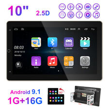 10'' 2DIN Car Android 9.1 Navi MP5 WIFI Radio Player GPS Bluetooth Rotatable