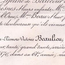 Marie Eléonore Victoire Beaulieu Jules Hennecart 1870