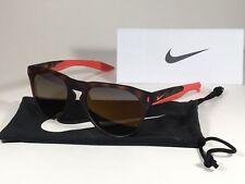 5094e808d55 Nike Essential Navigator Sunglasses R EV1020 Tortoise Red Amber Rounded  Lens New