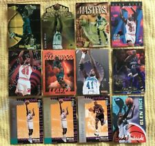 Glen Rice Premium 12 Card  Lot (Inserts, Parallel, Atomic Refractor)