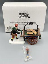 """Dept 56 Heritage Village Series """"Nutcracker vendor and Cart, 56183"""