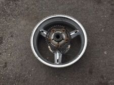 SUZUKI SV1000 S SV 1000 REAR WHEEL WITH BRAKE DISC & CUSH DRIVE