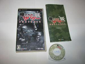 Oretachi no Sabage Portable Playstation PSP Japan import US Seller