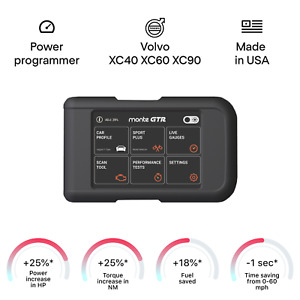 Volvo XC40 XC60 XC90 smart tuning chip power programmer performance race tuner
