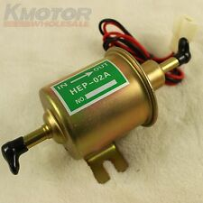 New Gas Diesel Inline Low Pressure electric fuel pump 12V