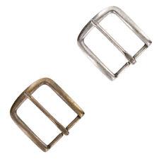 "Simple Belt Buckle Metal Buckle fits 1-1/2""(38mm) Wide Antique Silver or Brass"