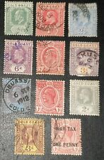 DUZIK: Gold Coast Mixed Unchecked Stamps (No1947)**