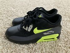 Nike Air Max 90 LTR GS Shoes Dark Grey/Volt 833412-023 Youth Size 7 Women's 8.5