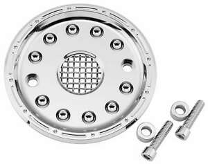 Bikers Choice 105061 Outlaw Pulley Guard Kit - Chrome