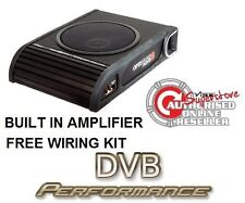 "VIBE LiteAir Optisound Auto8 8"" Amplified Active Car Subwoofer 900w inc wiring"