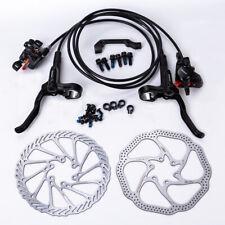 Shimano Mt200 Mtb Bicycle Hydraulic Disc Set Brake Front & Rear Black W/o G3/Hs1