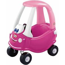 Little Tikes Princess Cozy Coupe Ride-On, Dark Pink W