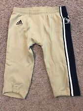 Notre Dame Football Adidas 2012 Shamrock Series Team Issued Pants Chicago Miami