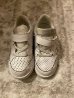 White Nike Low Toddler Sneakers Used Size 9C