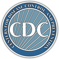 Centers Disease Control Prevention CDC Seal Car Bumper Vinyl Sticker Decal 4.6""