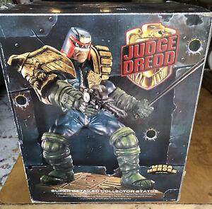 Judge Dredd Mega Heroes Statue 12 inch! Brand New! Collector Statue! Super Detai