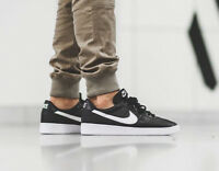 NIKE BRUIN QS Trainers Casual Retro Marty Mcfly Leather - UK 13 (EUR 48.5) Black