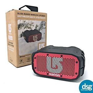 Braven BRV-1 Portable Wireless Bluetooth Speaker - Black / Red - WaterProof IPX7