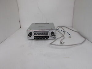 NOS Tenna AF-66-PB AM FM Radio Tested and Working Jaguar XKE Lotus? Made Japan