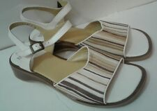 FRANCE MODE Sandals Buckle Shoes Euro Size 41 USA 8 $170 Retail Tag on Sole