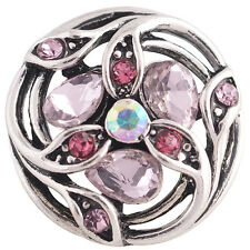 Snap It Button Charm Fits Ginger Snap Style Jewelry  *We Combine Shipping*