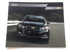 2017 Chevrolet SS 20-page Original Car Sales Brochure Catalog - Holden Australia