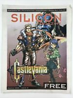 Silicon Magazine Video Game Castlevania March 1999 Issue 8 N64 PS1 Dreamcast