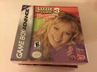 Lizzie McGuire 3: Homecoming Havoc (Nintendo Game Boy Advance, 2005) GBA NEW