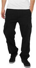 Camouflage Cargo Pants Urban Classics Streetwear Pantalone amp Pantaloncino Uomo 36 Black