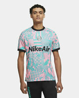 Nike F.C. Home Soccer Jersey New Green Pink Beam CT2508-396 NWT Football Size S