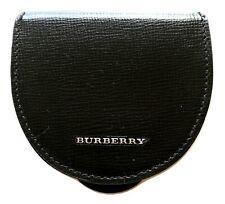 Burberry portamonete da uomo in pelle 4016405 nero SAWYER