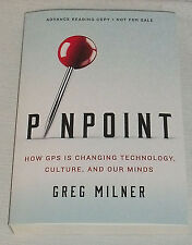 Pinpoint Book by Greg Milner Advance Reading Copy ARC Paperback NEW