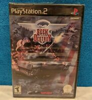 Seek and Destroy (Sony PlayStation 2, 2002) Factory Sealed - See Description