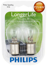 Tail Light Bulb-Longerlife - Twin Blister Pack Philips P21/4WLLB2