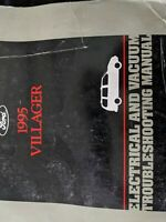 1995 Ford Mercury Villager Van Electrical & Vacuum Troubleshooting Manual