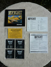 Dog Fight 80 Years Of Aerial Warfare IBM Computer Disk Game Microprose GC No Box