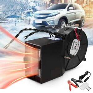 12V Car Auto Electric Heater Heating Cooling Fan Defroster Demister 500W 25A