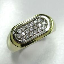 149 - Attraktiver Ring aus Gold 585 mit Zirkonia -1569/74-