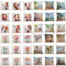 Home Sofa Decor Cushion Cover Simple Flower Vase Throw Pillowcase Pillow Covers
